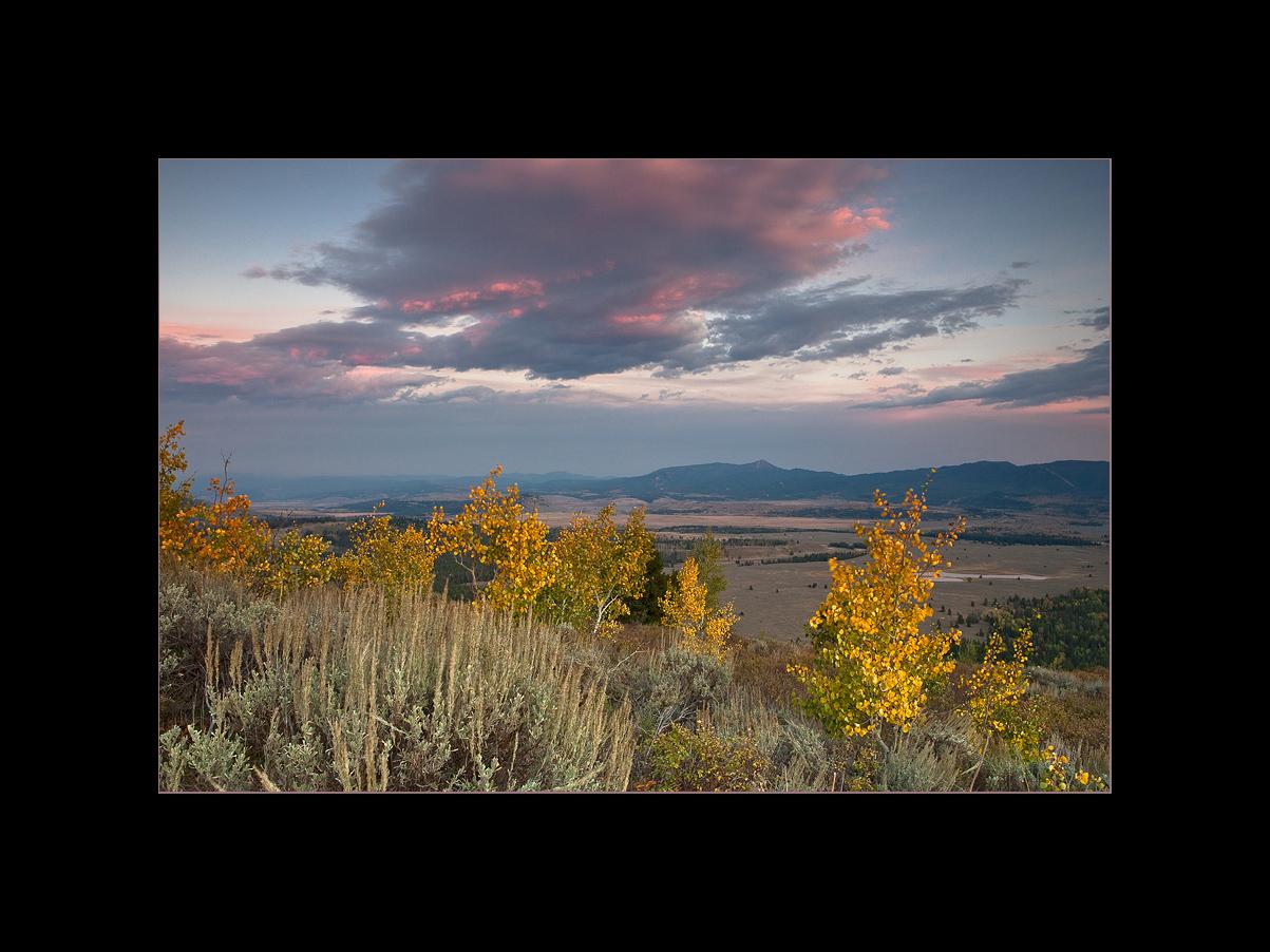 Sunset at Signal Mountain, Grand Teton National Park