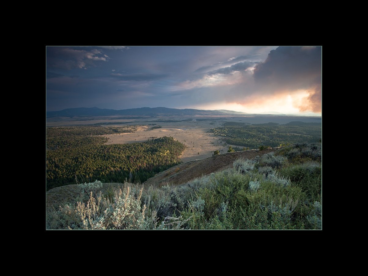 View from Signal Mountain, Grand Teton National Park