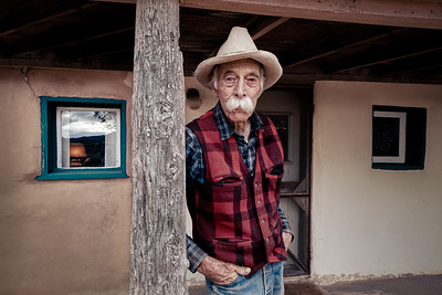Archie West, by Christopher Briscoe in Santa Fe, New Mexico. 2019