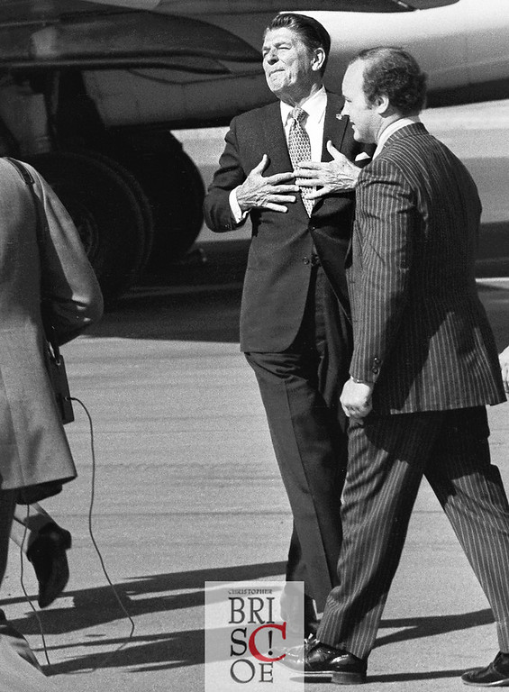 Ronald Reagan and Brady
