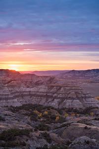 Theodore Roosevelt NP sunrise