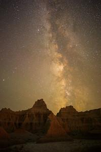 Badlands by Night