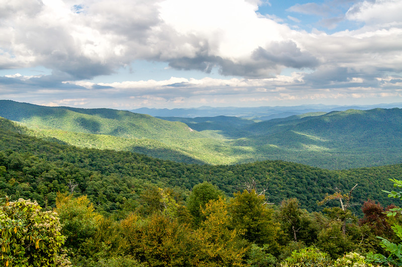 Cloud Shadows on the Blue Ridge