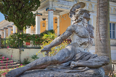 Greece - Corfu - Achillion Palace -20