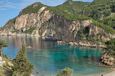 Greece - Corfu - Coastline -6