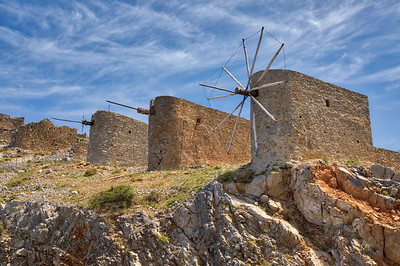 Greece - Iraklion - Lassithi Plateau Windmills -5