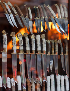 Cretan knives, Hania, Greece