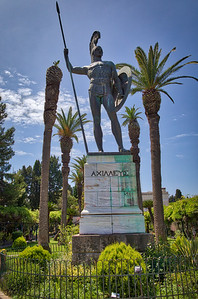 Greece - Corfu - Achillion Palace - Achilles -2