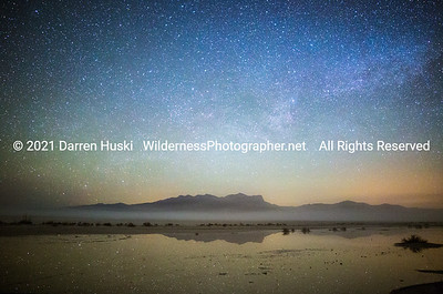 Milky Way over the Guadalupes