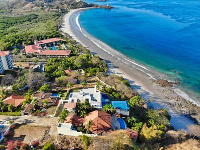 Vista aérea de Flamingo, Guanacaste