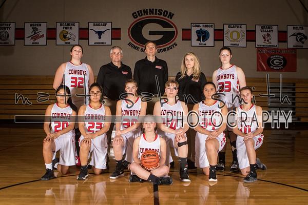GHS Girls Basketball 2019-2020