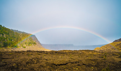 Rainbow | Kilauea Iki Crater, Volcanoes National Park, HI