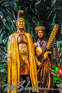 Dole Plantation Carving