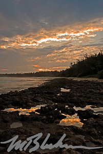 Turtle Bay Sunrise and Tidal Pools