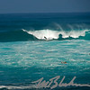 Surf 's Up at the Banzai Pipeline