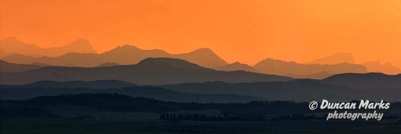 Golden Layers Panorama