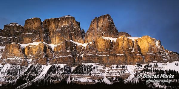 Castle Mountain Panorama