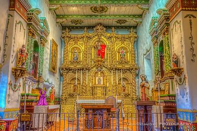 Golden Altar, Mission San Juan Capistrano