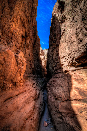 Slot Canyons at Salton Sea