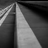 Stufen an den Elbpromenade im Hafen