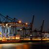 Containerterminal ltenwerder in Hamburg