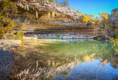 The Pond at Hamilton Pool