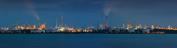 Fawley Refinery Panoramic, Hampshire