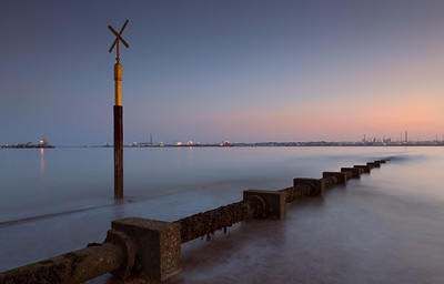 Fawley Power Station and Fawley Refinery, Hampshire