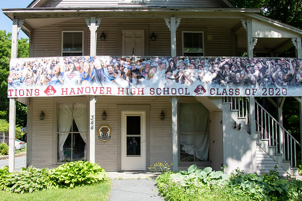 Hanover High School Graduation Parade through Norwich