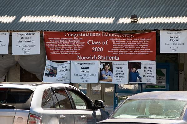 Hanover High School Graduation Parade through Norwich