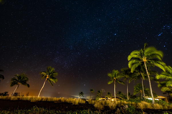 Night Sky in Wailoloa