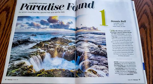 2019 Westways Magazine Winner - October issue