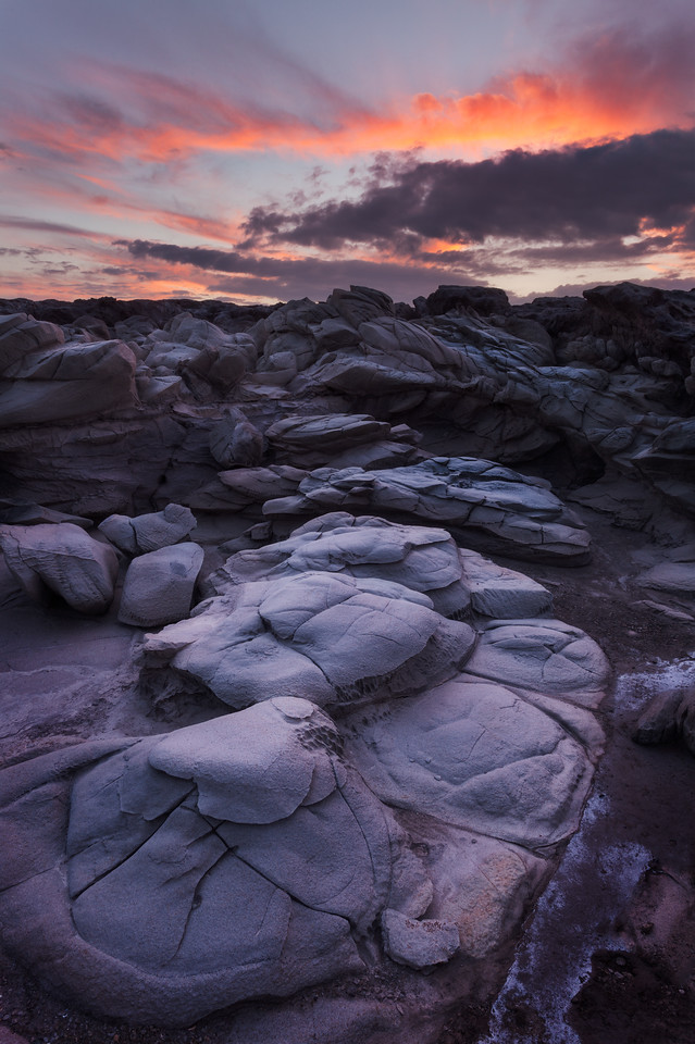 Dragon's Teeth Sunset