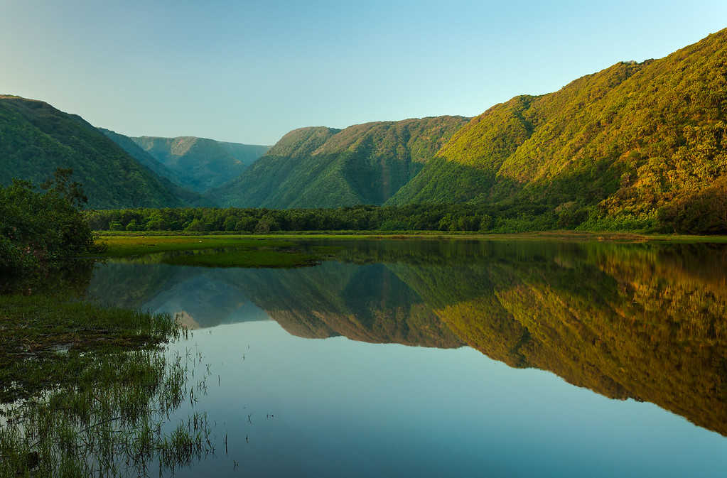 Pololu Valley Mirror