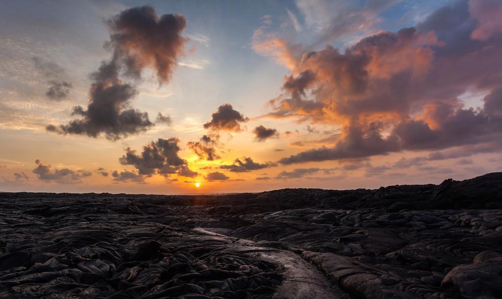 Lava Field Sunrise