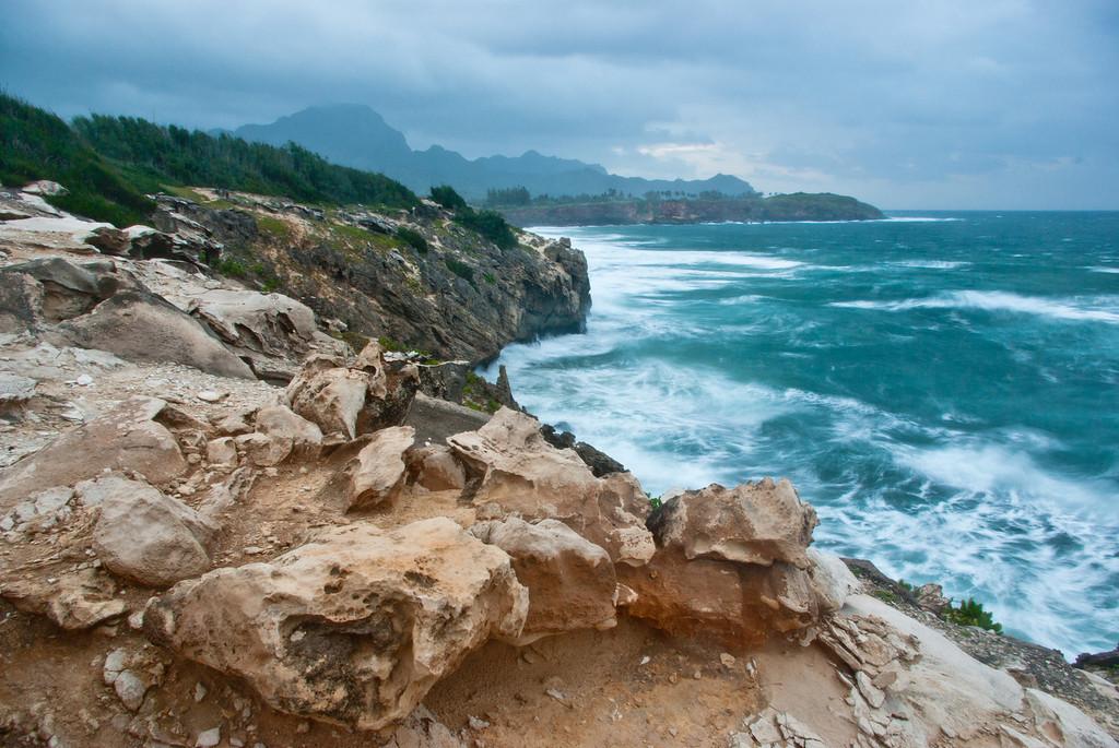 Makawehi Lithified Cliffs