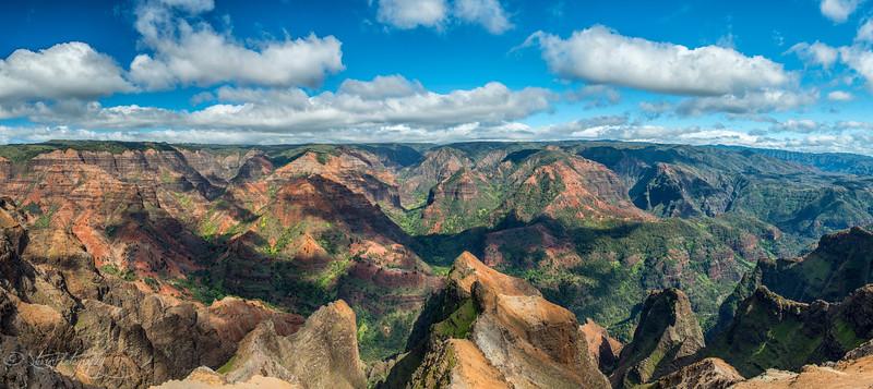 Canyon of Waimea - Kauai, HI