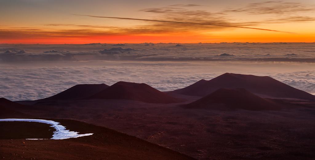 Mauna Kea Craters