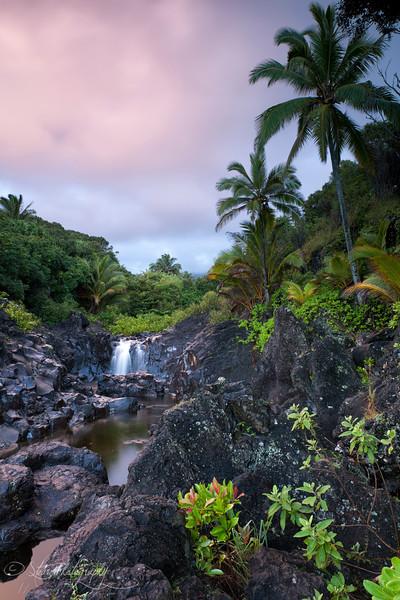 Glance of Paradise - Hana, Maui, HI