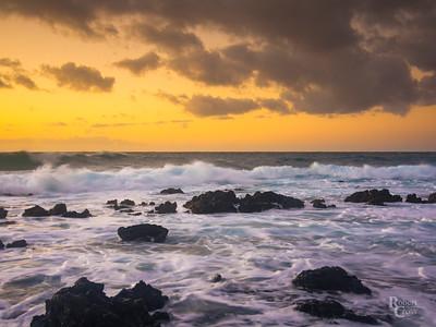 Molten Sunrise in Hawaii Kai