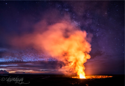 Pele's Castle - Kilauea Caldera, Big Island, HI