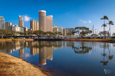 Honolulu reflections