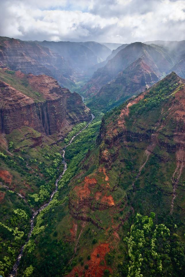 Waimea Canyon Flyover
