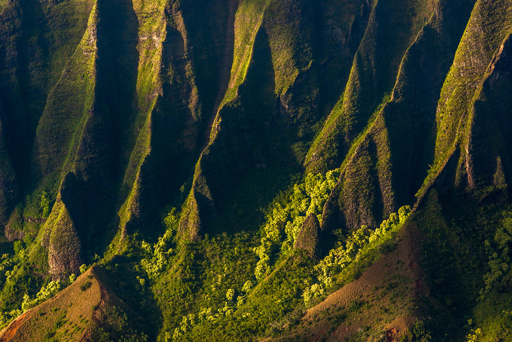 Kalalau Valley Ridges