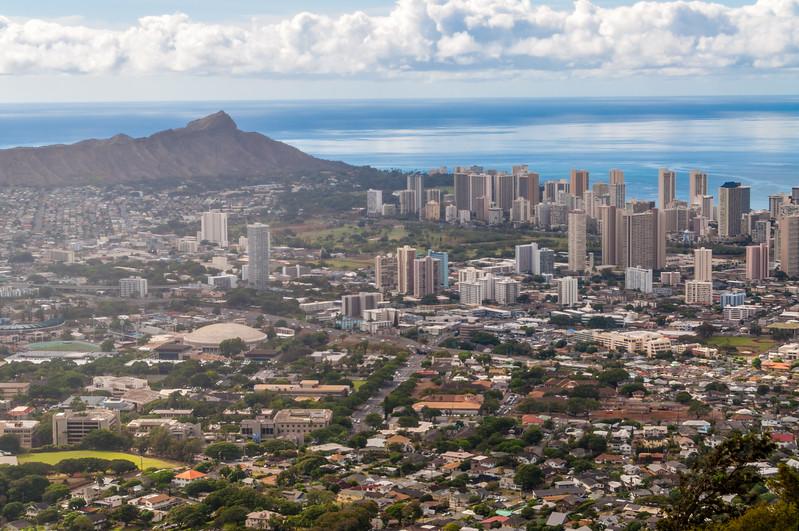 High Above Honolulu