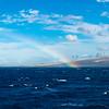 Rainbow Over the Island of Molokai