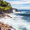 Waves Crashing on the Big Island of Hawaii