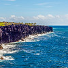 Volcanic Cliff Shore on the Big Island of Hawaii