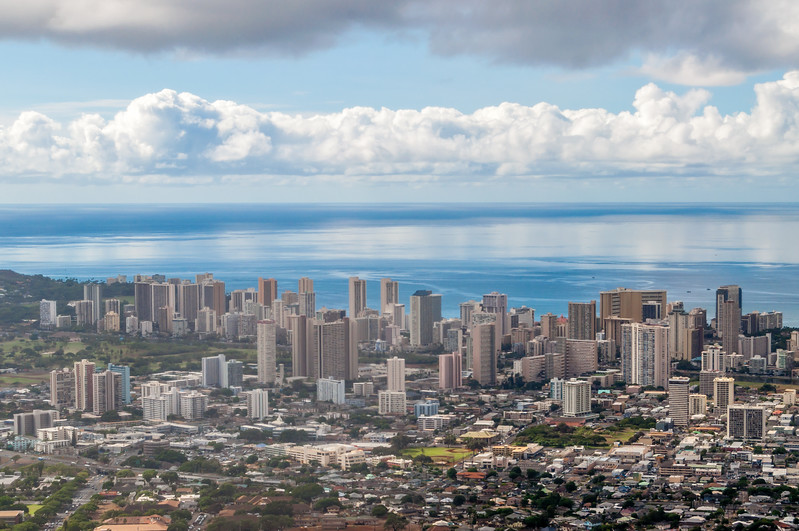 Waikiki From Pu'u Ualoka State Park Overlook