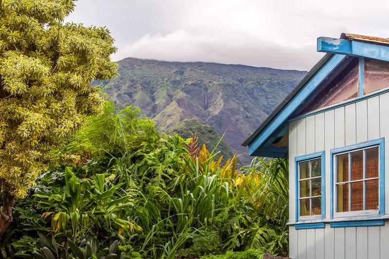 Living at the  Foot of Haleakala Volcano